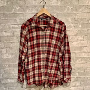 Long sleeve classic plaid Riders by Lee